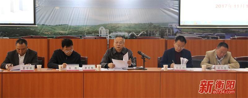 廖炎秋率队调研常宁水口山铜铅锌产业项目建设
