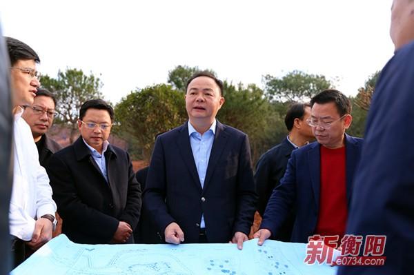 郑建新赴衡南县专题调研经济社会的发展工作