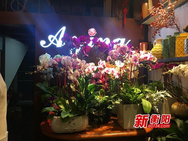 新年遇上情人节 衡阳市鲜花市场将迎来销售旺季