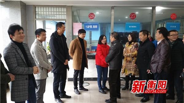 上班第一天:衡南县人社局干部职工热情饱满