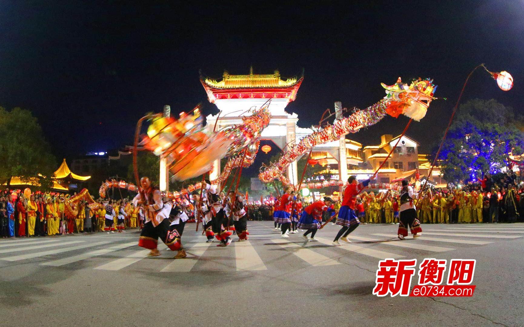 火舞龙狮・福临南岳2018年南岳春节庙会活动综述