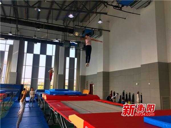 备战省运会:衡阳体操运动员厉兵秣马全力备战
