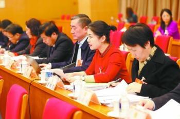湖南代表团举行第八次全体会议