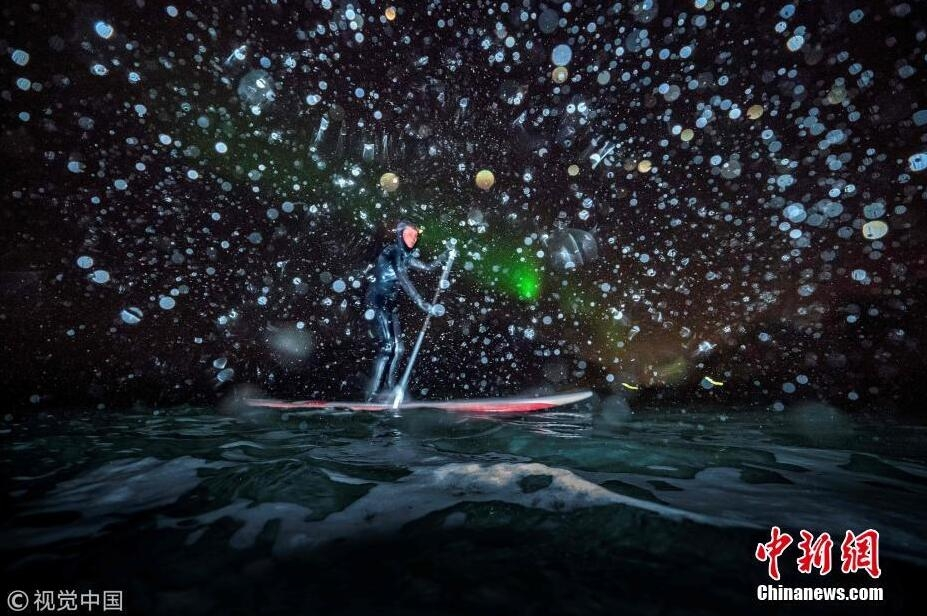去北极圈冲浪!享受飘雪和极光双重浪漫