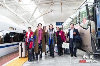 在湘全国人大代表返长 向大会提出议案13件建议372件