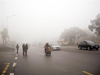 快讯|受浓雾影响,衡阳11个高速收费站正实行临时交通管制