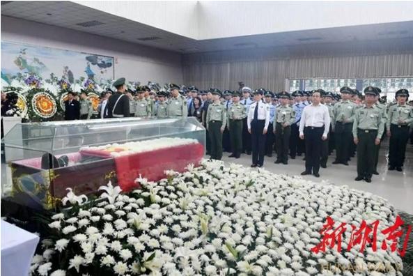 衡南籍烈士谢勇被公安部追认党员、追记一等功