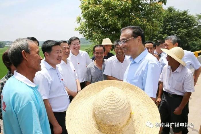 李克强总理考察衡南的情况都在这了!村民说:总理很朴素,脚上都是泥