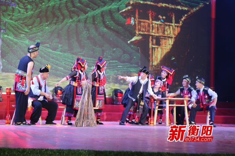 祁东渔鼓在湖南(衡阳)传统曲艺邀请赛上夺金奖