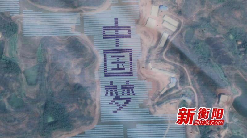 """衡阳县首个""""渔光互补""""光伏扶贫电站一期并网发电"""