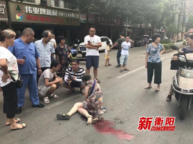 六旬老人遭遇交通肇事逃逸 衡阳警方已介入调查