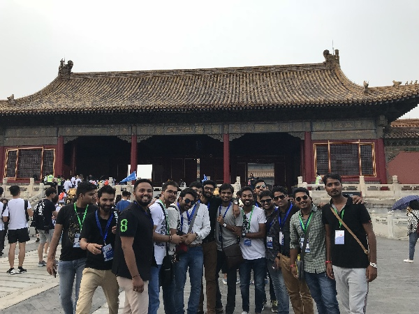 200名印度青年代表团来华访问 点赞中国成就