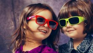 6岁以下儿童 不宜戴太阳镜