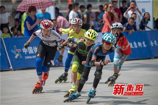 喜迎省运会:首届湖南轮滑公开赛在衡东激情开赛