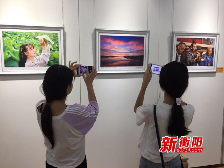 """常宁2018""""欢乐潇湘·幸福常宁""""群众作品展开幕"""