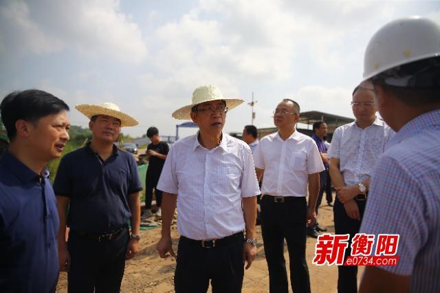 """邓群策:全力打赢蒸水流域污染防治""""翻身仗"""""""