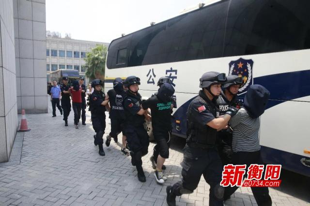 """衡阳公安侦破湖南首起省督网络""""套路贷""""诈骗案"""