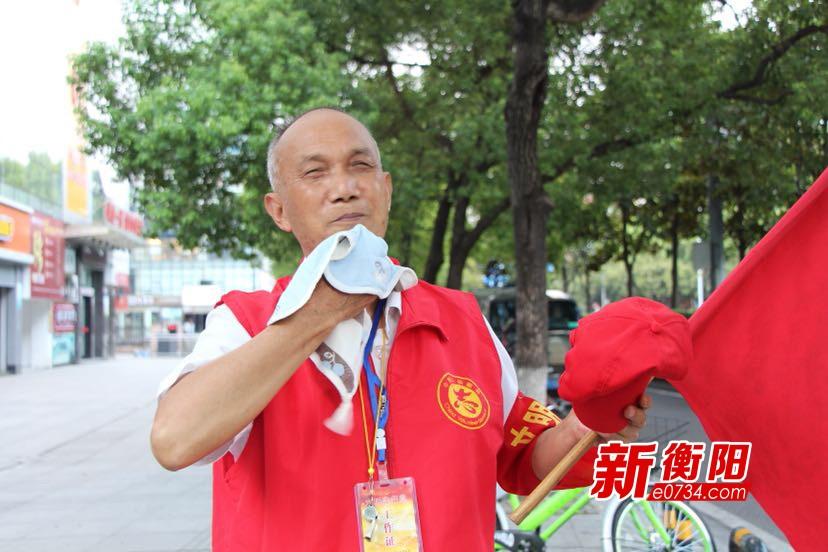 """三伏天的晌午⑭""""红马甲""""衡阳街头最美风景"""