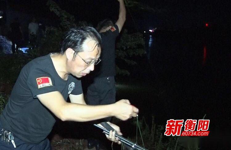 衡阳县饮用水源保护巡查小组重拳打非法垂钓行为