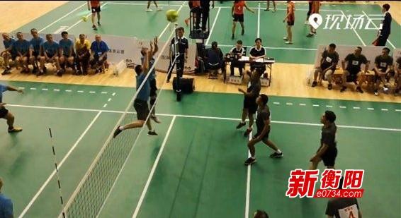 关注省运会:气排球衡阳男子甲组决胜局逆袭邵阳