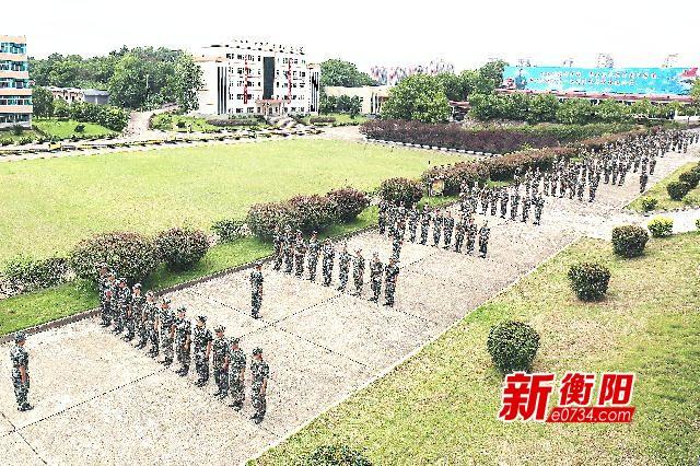 """衡阳市2906名双合格""""准新兵""""接受役前教育训练"""