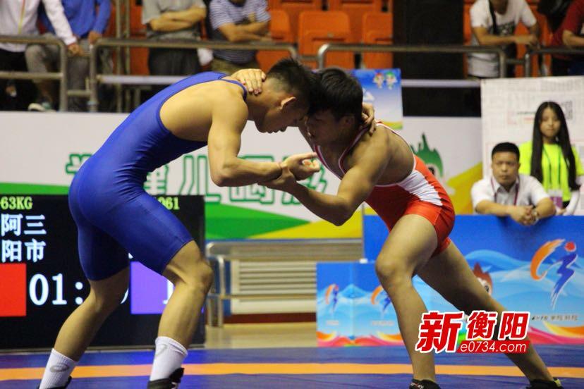 省运最前线:国际式摔跤落下帷幕 衡阳斩获2金4铜