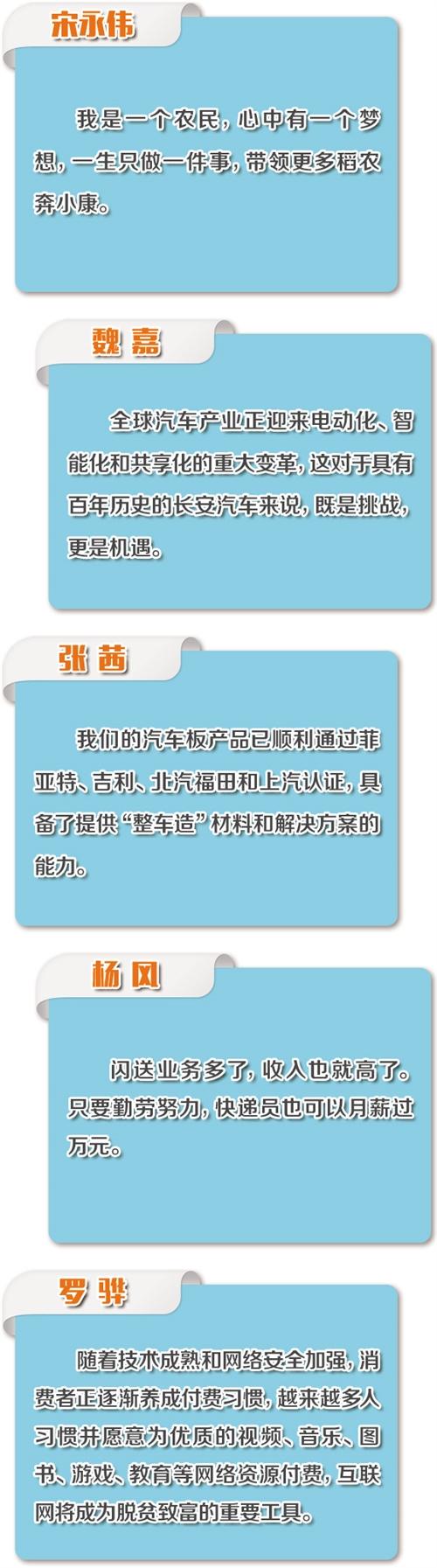 一二三产从业者眼中的经济形势:紧跟需求创新供给 中国经济砥砺前行