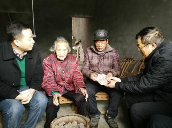 """衡阳县三湖镇联洋村""""百岁老人""""喜圆新房梦"""