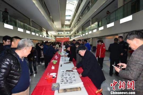 """致敬改革开放 浙江40位书画名家共绘新时代""""枫桥经验"""""""