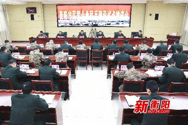 促军地联合 衡阳市积极推进民营企业民兵建设试点