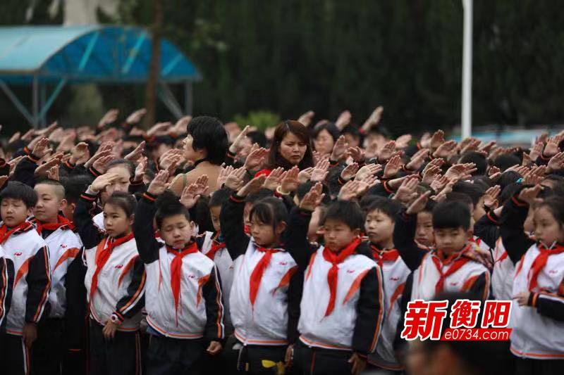 """传承国学经典 南岳区完小开展""""国旗下的微展示"""""""