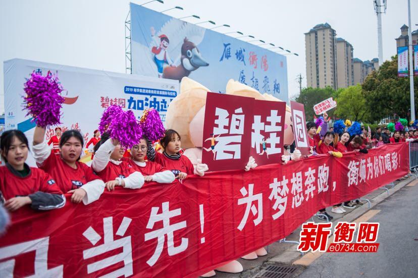 碧桂园152名志愿者助力衡阳市首届国际马拉松