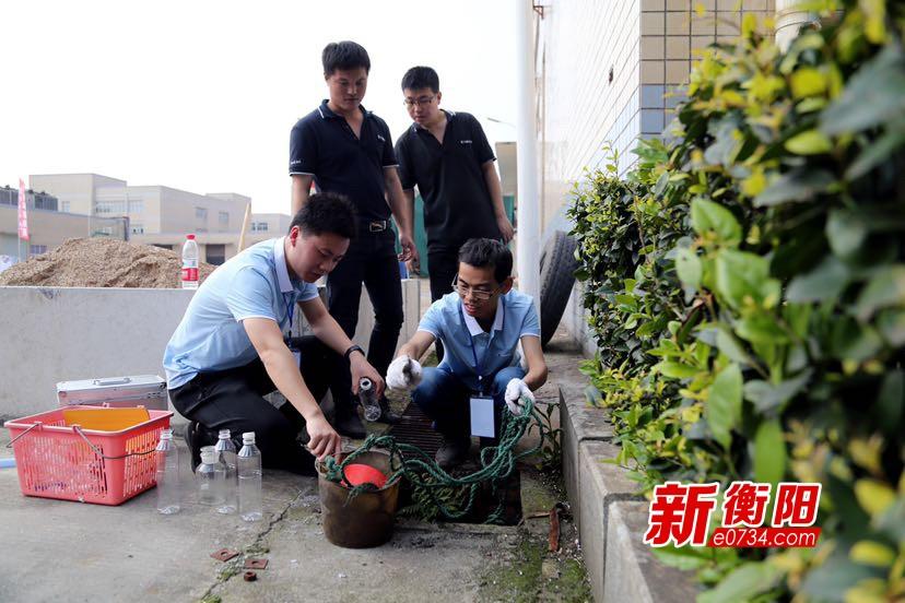 衡阳市白沙洲工业园开展突发环境事件应急演练