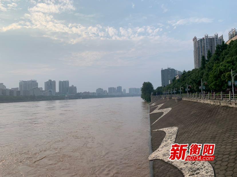 注意!今晚23時湘江干流衡陽水文站將現洪峰