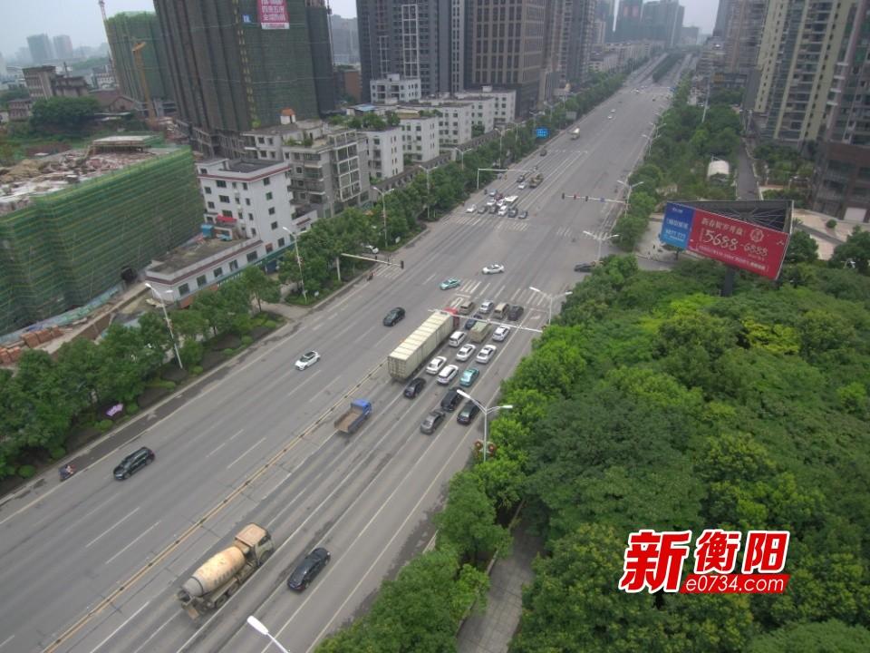 衡阳市首座无障碍电梯人行天桥高清效果图来了!