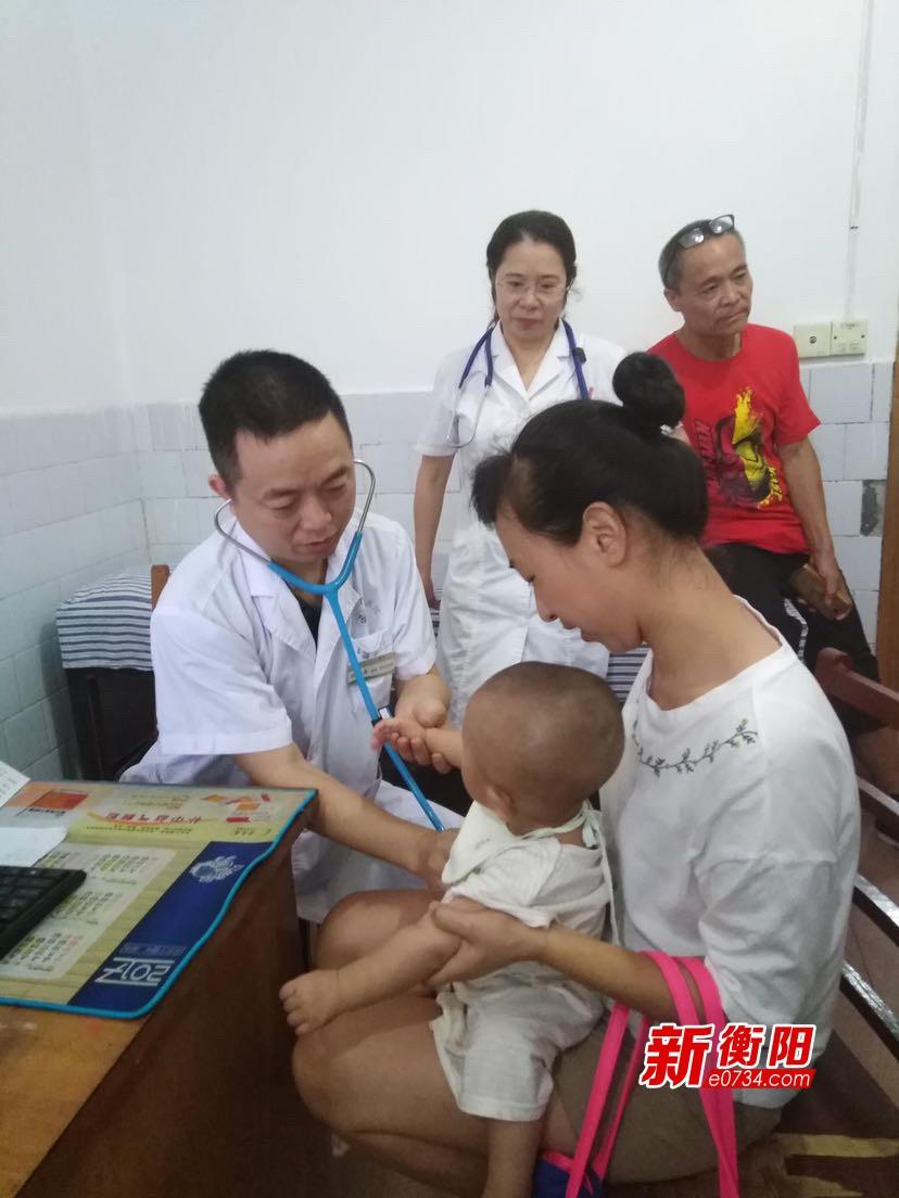 衡陽市中心醫院專家走進醫聯體單位開展義診