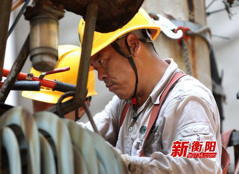 衡阳市夏季电网日供电量、最高负荷同创历史新高