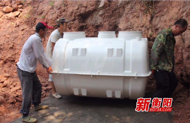 """建设美丽宜居乡村:常宁新河镇积极推进""""厕所革命"""""""