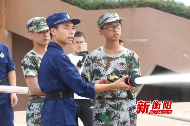 湖南工学院:消防知识进校园   筑牢校园防火墙