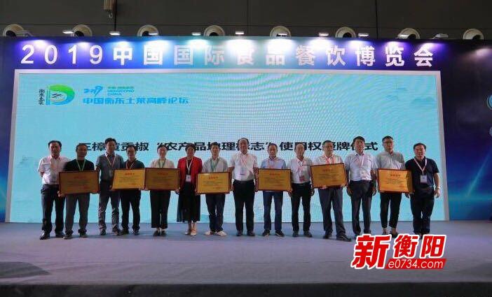 土菜香飘四方 2019年衡东土菜高峰论坛在长沙举行