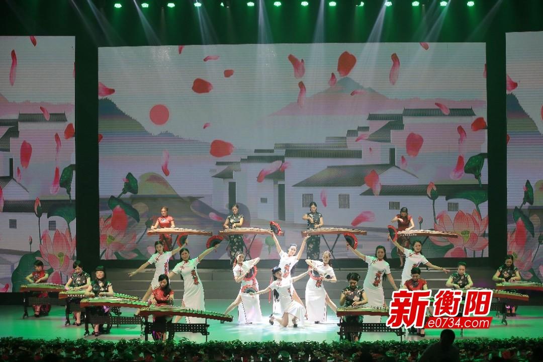 庆祝新中国成立70周年:蒸湘区举办群众文艺汇演