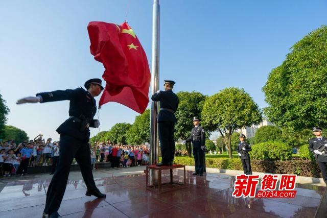 庆祝新中国成立70周年:衡阳各单位组织收看庆典直播