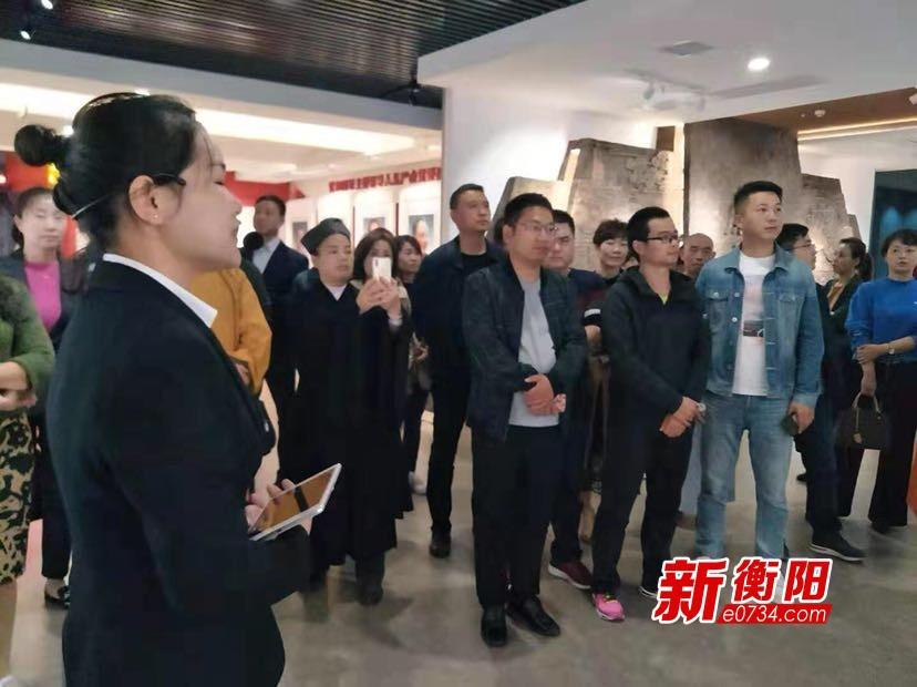 衡陽市委黨校組織黨外人士培訓班學員參觀廉政教育基地