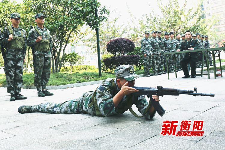 淬火砺剑!衡阳警备区持续兴起群众性大练兵热潮