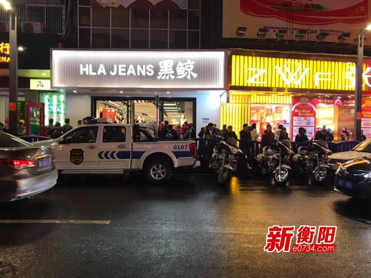 """衡陽市民文明理性過""""洋節""""  年貨采辦提上日程"""
