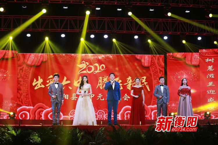 我们的节日·元旦:衡阳县六中举行大型文艺晚会
