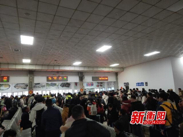 2020春运今日启动  衡阳火车站预计发送旅客78万人