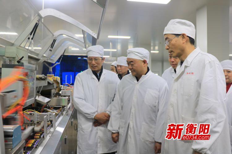 湖南省总工会慰问组来衡向困难职工送去新春慰问