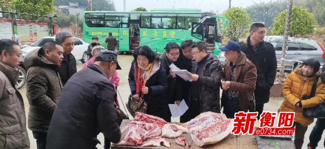 衡陽市水利局開展消費扶貧活動 開啟脫貧新引擎