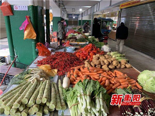 """别担心""""菜篮子""""!西园蔬菜批发市场各种蔬菜供应不愁"""